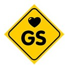 Dreamcar Vantuzlu Amblem ''I Love GS'' 3300716