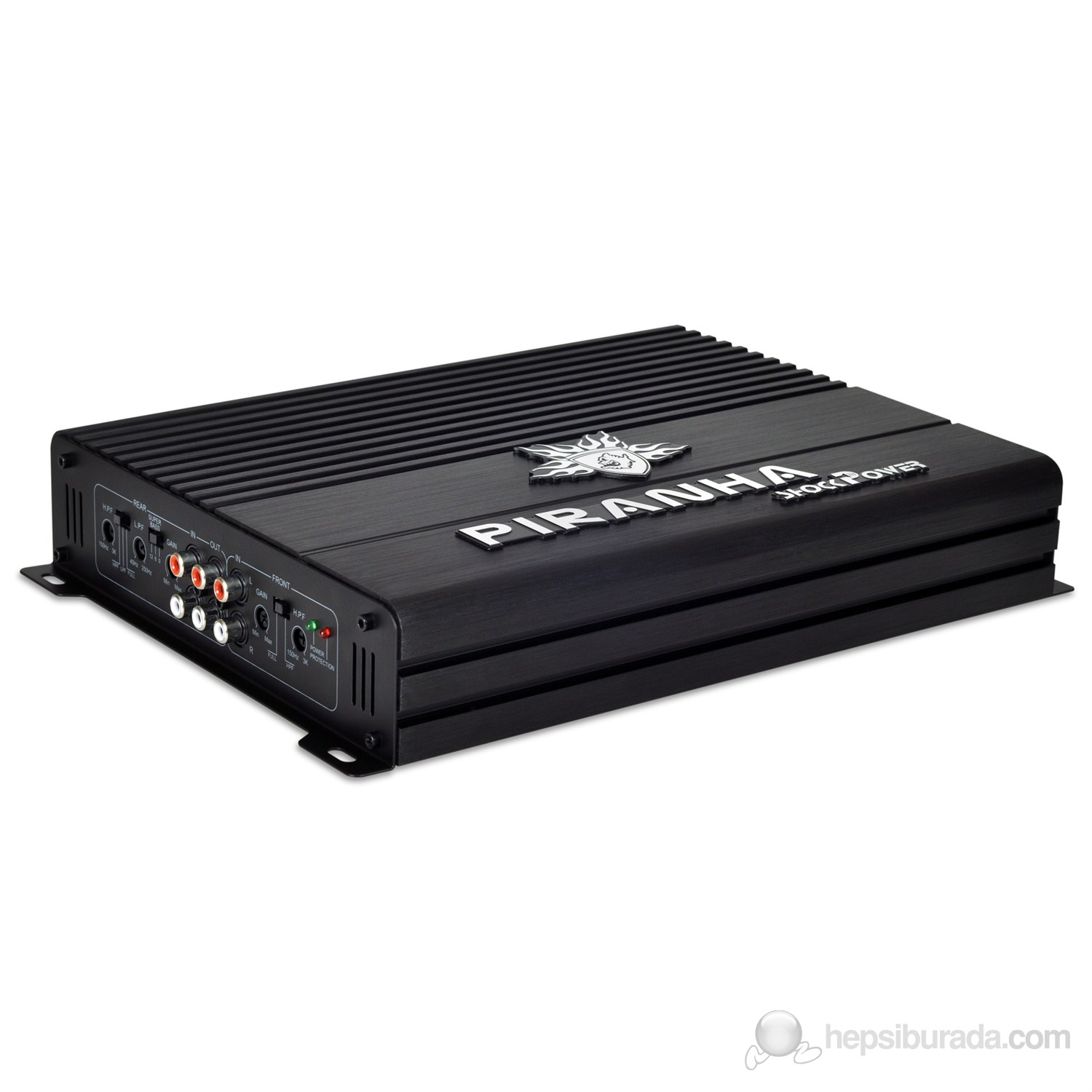 Piranha Shockpower X Type  4 Kanallı 600 Watt Oto Amfi