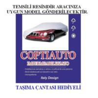 Coptiauto Özel Üretim Çift Kabin Kamyonet Uyumlu Ultra Lüx Oto Branda Müflonlu