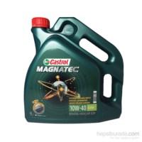 Castrol Magnatec 10W-40 A3/B4 4 Litre Motor Yağı (Benzin)(Üretim Yılı: 2017)