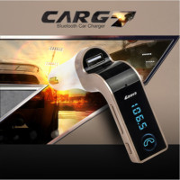 Bluetooth Araç Kiti G7 Fm Transmitter- Altın-Dore
