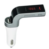Kingboss Bluetooth Araç Kiti G7 Fm Transmitter _Gümüş