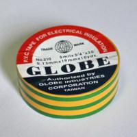 Globe Orjinal Sarı/Yeşil 19mm İzole Bant 6060024