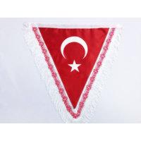 Gönder Bayrak - Türk Takdim Flama (40x45 cm)