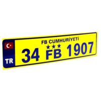 ModaCar Fenerbahce Vantuzlu Cam İçi Plaka 360009