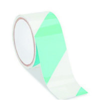 9.2Cm X25Mt Fosfor Çapraz Beyaz Yeşil