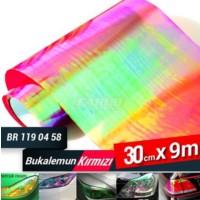Far Filmi 30Cmx9Mt Kolormatik Lazer Kırmızı