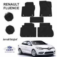 Renault Fluence Sedan Kauçuk Paspas 5Prç Siyah