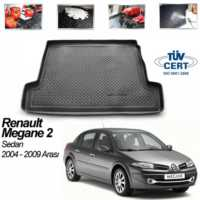 Renault Megane 2 Sedan Bagaj Havuzu Siyah 2004-2009
