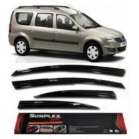 4 Lü Dacia Logan Mcv (Uzun Kasa) Sport Style Sunplex Cam Rüzgarlığı