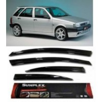4 Lü Fiat Tipo Ön-Arka Sport Style Sunplex Cam Rüzgarlığı