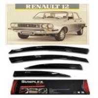 4 Lü Renault 12 Toros Binek Ön-Arka Sport Style Sunmild Cam Rüzgarlığı