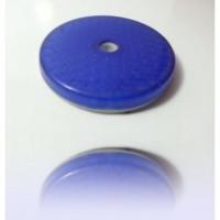 Reflektör Büyük Yuvarlak Mavi Çap:8Cm