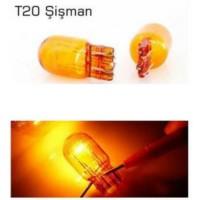 T20 Park Ampul Tek Duy Sarı Işık Takım(2Adet)