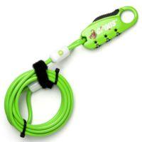 Tex TY4606 Q4 Şifreli Motosiklet ve Çok Kullanışlı Kask Kilidi Yeşil
