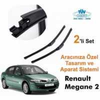 Renault Megane 2 Araca Özel Silecek Takımları (Sağ-Sol)