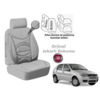 Süslenoto Fiat Palio Hb 2002-2012 Gri Oto Koltuk Kılıfı Ortopedik