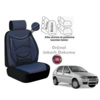 Süslenoto Fiat Palio Hb 2002-2012 Mavi Oto Koltuk Kılıfı Ortopedik