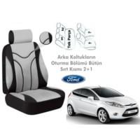 Süslenoto Ford Fiesta Hb 2008-2013 Füme Oto Koltuk Kılıfı Ortopedik