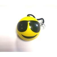 Süslenoto Gülen Yüz Vantuzlu Maskot Çap:6Cm M7