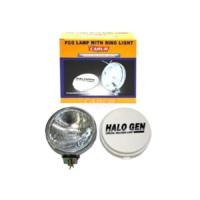 Süslenoto Sis Lambası Beyaz Yuvarlak Arkası Nikelaj Çap:17Cm Adet 3023201