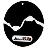 Simoni Racing Bianco Nero 1- Kokulu Ayna Aksesuarı SMN100669