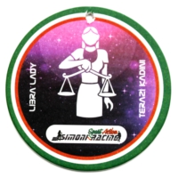 Simoni Racing Bilancia - Terazi Burcu Kokulu Ayna Aksesuarı SMN102104