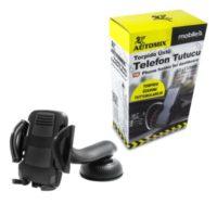 Automix Robot Telefon Tutucu Siyah