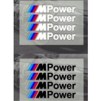 Tsc Bmw M Power F30 Yapıştırma Sticker Arma Ve Logo