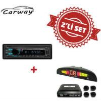 Carway CR-4000 Oto Teyp ile Park Sensör Set