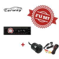 Carway CR-8000 Oto Teyp ile Geri Görüş Kamera Set
