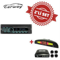 Carway CR-9000 Oto Teyp ile Park Sensör Set
