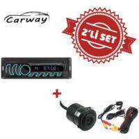 Carway CR-9000 Oto Teyp ile Geri Görüş Kamera Set