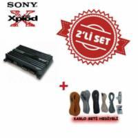 Sony XM-N1004 4 kanal Amfi ile Kablo Seti