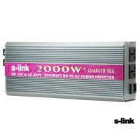 Slink 12 V Dc 2000 Watt Inverter Oto Çakmak Çevirici Kd