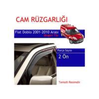 Carub Fiat Doblo 2001-2010 Mugen Cam Rüzgarlığı 4Lü***