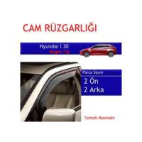 Carub Hyundai İ30 Mugen Cam Rüzgarlığı 4Lü