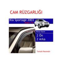 Carub Kia Sportage Cam Rüzgarlığı 2003 Mugen 4Lü
