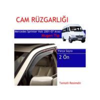 Carub Mercedes Sprinter Volt Cam Rüzgarlığı 01-07 Mugen 4Lü