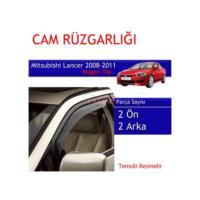 Carub Mitsubishi Lancer Cam Rüzgarlığı 08-11 Mugen 4Lü