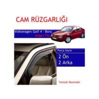 Carub Volkswagen Golf 4 -Bora Mugen Cam Rüzgarlığı 4Lü