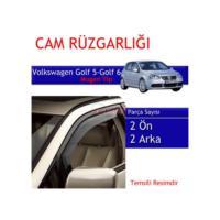 Carub Volkswagen Golf 5-Golf 6 Mugen Cam Rüzgarlığı 4Lü