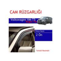 Carub Volkswagen T5 -T 6 Mugen Cam Rüzgarlığı 4Lü