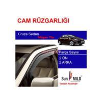 Demircioğlu Chevrolet Cruze Sedan Mugen Cam Rüzgarlığı 4Lü