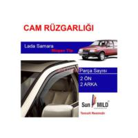 Demircioğlu Lada Samara Mugen Cam Rüzgarlığı 4Lü