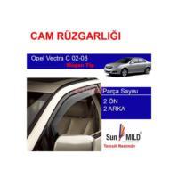 Demircioğlu Opel Vectra C Cam Rüzgarlığı 02-08 4Lü Mugen