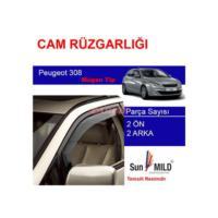 Demircioğlu Peugeot 308 Mugen Cam Rüzgarlığı 4Lü
