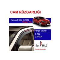 Demircioğlu Renault Clio 4 Cam Rüzgarlığı 2012 Mugen 4Lü