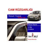 Demircioğlu Renault Fluence Mugen Cam Rüzgarlığı 4Lü