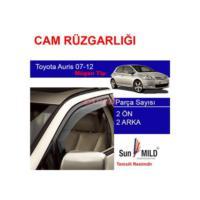 Demircioğlu Toyota Auris Cam Rüzgarlığı 07-12 Mugen 4Lü